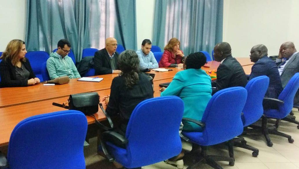 Visite d'une délégation du Congo Brazzaville du Ministère des affaires Sociales et d'actions Humanitaires a été reçu au siège du CERSS